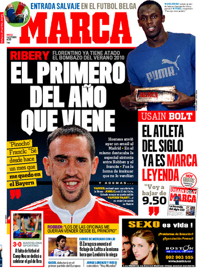 Ribery Real Madrid
