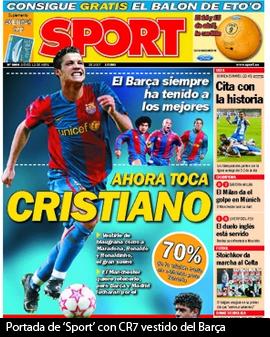 Cristiano al Barcelona