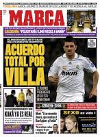 Villa y el Real Madrid