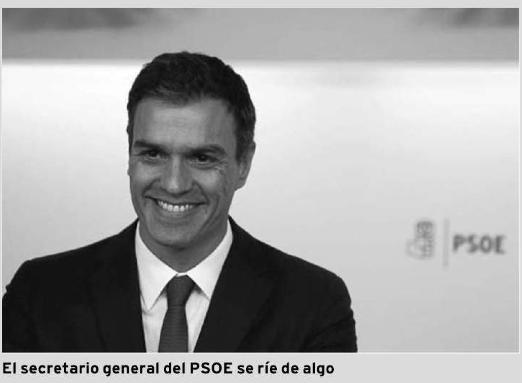 Pedro Sánchez en Diario de Arousa. Precisión en titulares