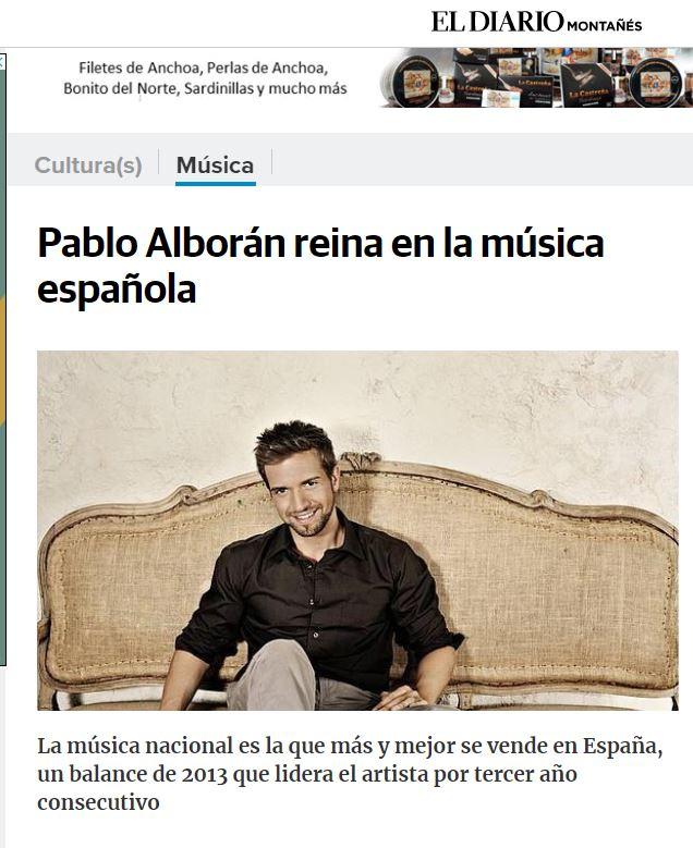 Titular de Pablo Alborán corregido